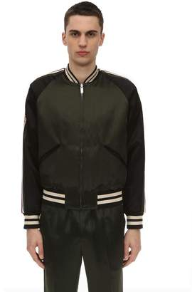Acetate Bomber Jacket
