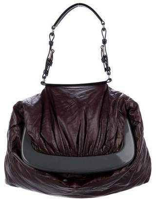 Marni Pleated Leather Tote