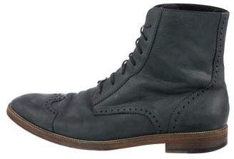 Marc Jacobs Wingtip Leather Boots