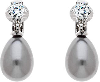 At John Lewis And Partners Finesse Gl Pearl Clip On Earrings