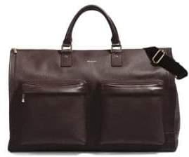 hook + ALBERT Men's Gen 2 Leather Garment Weekender Bag - Brown
