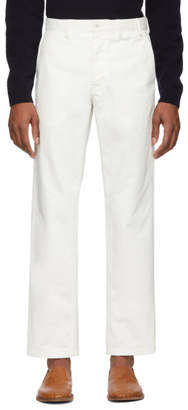Norse Projects White Heavy Aros Trousers