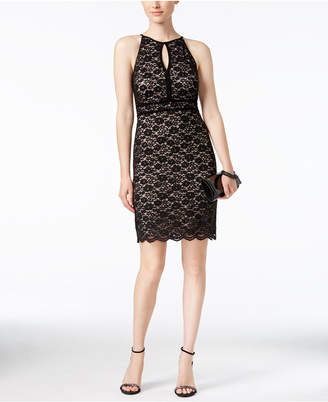 Nightway Lace Keyhole Sheath Dress $89 thestylecure.com