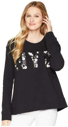 Kenneth Cole New York Swing Back Sweatshirt Women's Sweatshirt