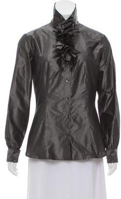 Etro Silk Button-Up Top