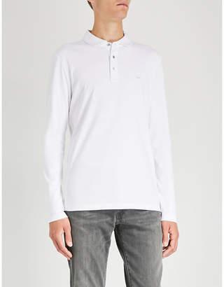 Michael Kors Logo-embroidered cotton-jersey polo shirt