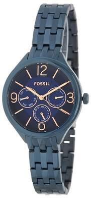 Fossil Women's Chronograph Bracelet Watch, 36mm