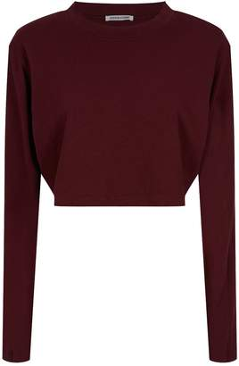 Cotton Citizen Tokyo Long Sleeve Cropped T-Shirt