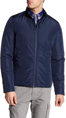 Knowledge Cotton Apparel Lightly Padded Long Sleeve Zip-Up Jacket
