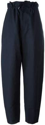 Stella McCartney paperbag waist baggy trousers