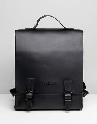 Dr. Martens Box Backpack in Straw Grain Leather