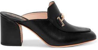 free shipping geniue stockist Tod's chunky heeled mules best seller sale online tumblr cheap online 9cBWhf