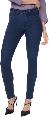 NYDJ Alina Rhinestone Detail Stretch Skinny Jeans