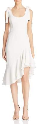 Rebecca Vallance De Jour Tie-Shoulder Dress