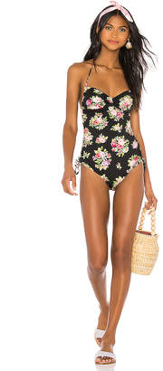 Zimmermann Honour Ruched One Piece