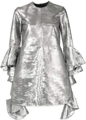 Ellery Kilkenny frill-sleeve dress