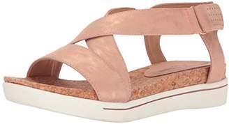 Adrienne Vittadini Footwear Women's Sport Celie Velcro Side Sandal