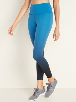 Old Navy High-Rise Elevate 7/8-Length Ombre Leggings for Women
