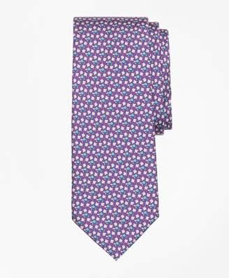 Brooks Brothers Turtle and Leaf Print Tie