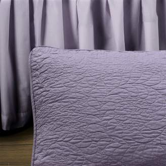 Donna Sharp French Lilac Quilted Euro Sham