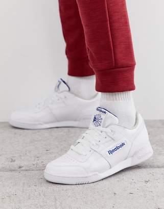 d8332454e3a38 Reebok Workout Plus Sneakers In White 2759