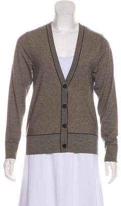 Dries Van Noten Striped Wool Cardigan