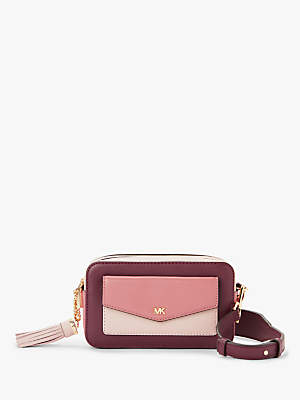 4af2a5514e17 Michael Kors Crossbodies Small Leather Camera Bag, Rose