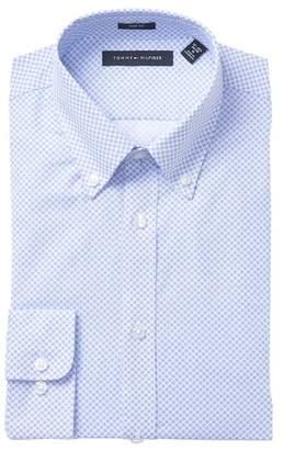 Tommy Hilfiger Print Slim Fit Dress Shirt