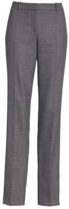 BOSS Tilunana Geometric Stretch Wool Blend Suit Trousers