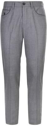 Stefano Ricci Slim Wool Trousers