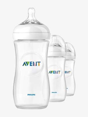 Vertbaudet Set of 3 Philips AVENT Natural 330 ml Bottles, BPA-Free