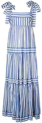 Zimmermann striped tiered maxi dress