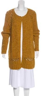 Lela Rose Crocheted Open Front Cardigan w/ Tags Rose Crocheted Open Front Cardigan w/ Tags