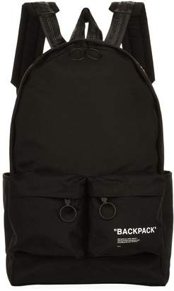 Off-White Off White Quote Backpack