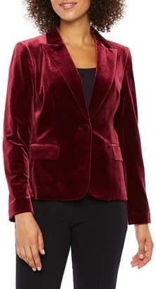 CHELSEA ROSE Chelsea Rose Velvet Suit Jacket