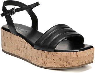 54c12213c6 Franco Sarto Black Leather Lined Women's Sandals - ShopStyle