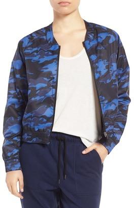 Ivy Park Camo Print Bomber Jacket $100 thestylecure.com