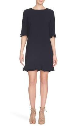 CeCe 'Kate' Ruffle Hem Shift Dress