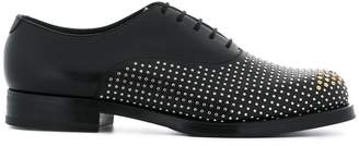 Emporio Armani studded lace-up shoes