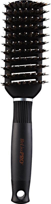 BeLissPRO Titanium Ceramic Boar/Nylon Vented Tunnel Brush