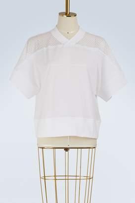 adidas by Stella McCartney Training cotton mesh T-shirt