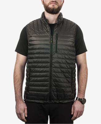 Hawke & Co Men Ombre Packable Down Vest