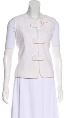 Chanel Bouclé Zip-Up Vest