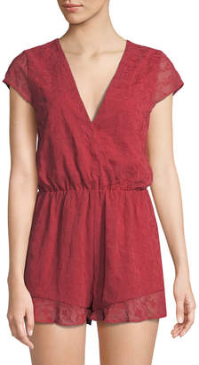 Lovers And Friends Hey Babe Lace-Back Romper