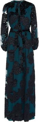Co Jacquard Long Peasant Dress $3,650 thestylecure.com