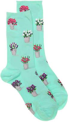 Hot Sox Bouquets Crew Socks - Women's