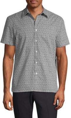 Perry Ellis Floral Short Sleeve Shirt