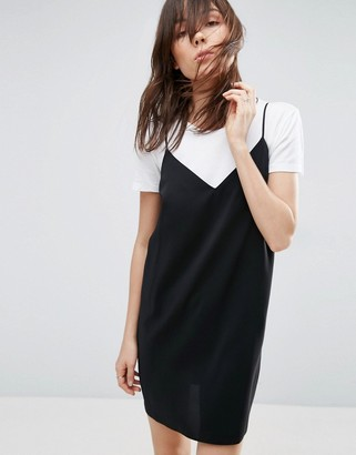 ASOS Mini Slip Dress $34 thestylecure.com