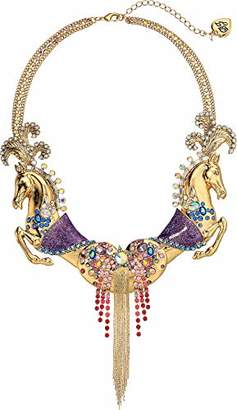 Betsey Johnson Jewelry Women's Horse Statement Necklace
