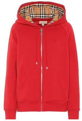 Burberry Cotton-blend hoodie